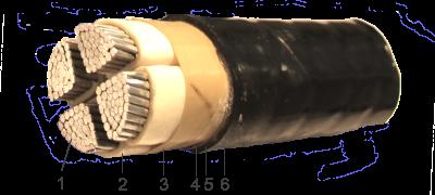 кабель АВБбШв 4х70 ( АВБбШв 4 70 ) силовой с алюминиевыми жилами в алматы